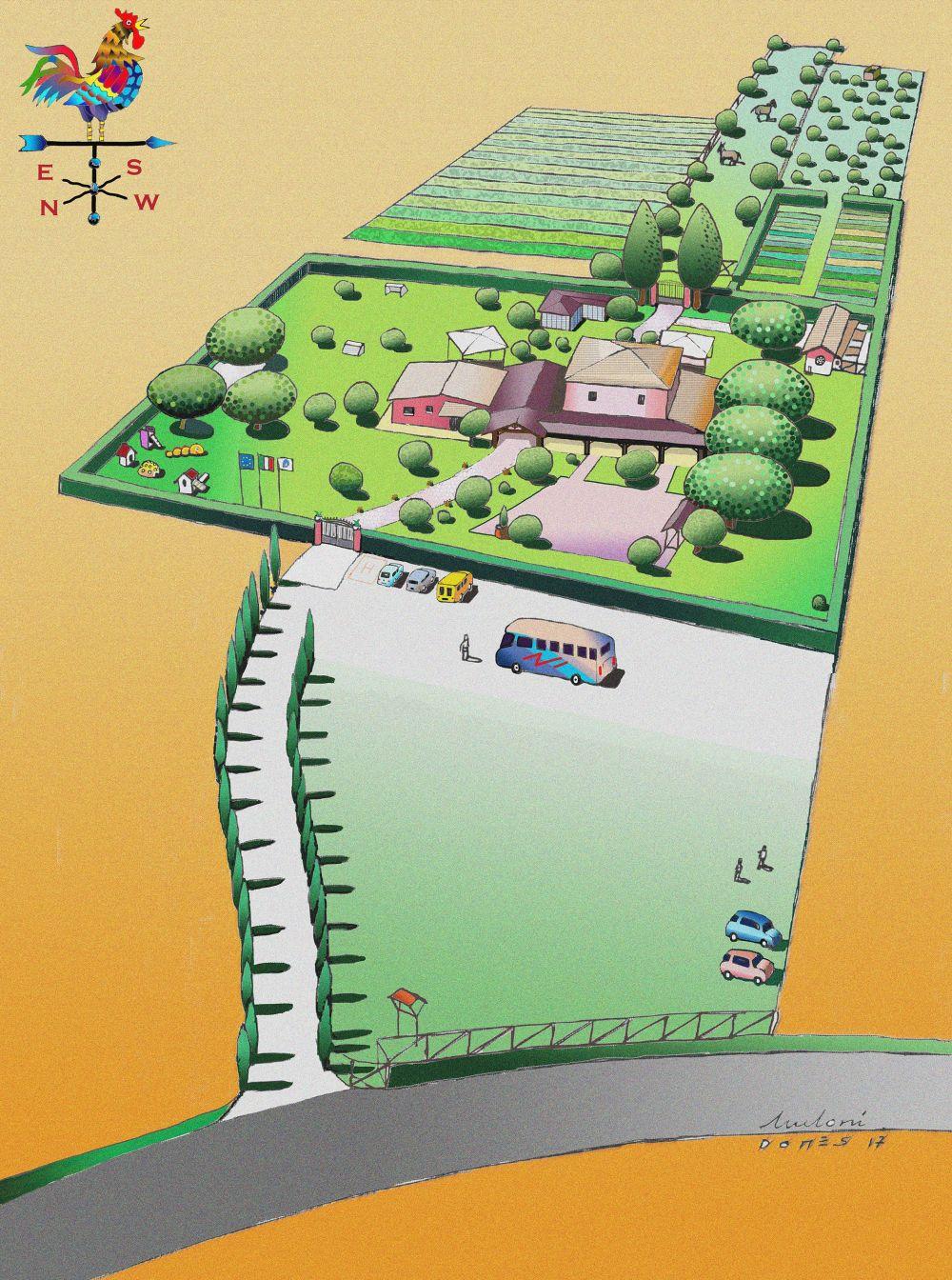 Mappa di Rurabilandia